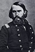 Brigadier General John T. Croxton (1837-1874), who led the raid on the University of Alabama, resigned from the army at the end of 1865 and returned to his native Kentucky to practice law. Though suffering from Tuberculosis, he accepted an appointment in December 1872 as U.S. consul to Bolivia, where he died two years later at the age of thirty-six. (Courtesy Library of Congress.)