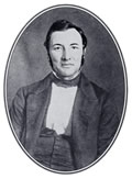 Andr Deloffre, librarian and professor of French, attempted to save the University of Alabama library from destruction in 1865. Deloffre, who came to the University in 1855, sometimes surprised his associates. It was said that a member of the military faculty once picked up a sword and jokingly challenged Deloffre. The old mans eyes sparkled; and, quick as a thought, he snatched up a sword and in a few passes knocked the sword from his antagonists hand and ran him back into a corner of the room, to the great amusement of the crowd. It seems that the professor had been a French soldier during the Revolution of 1848. Soon after the Civil War ended, Deloffre moved to Mobile, where he continued to teach French until at least 1875. It is believed that he returned to France. (Courtesy W.S. Hoole Special Collections Library, University of Alabama.)