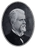 James Thomas Murfee (1833-1912), commandant of cadets at the University of Alabama, was in command during the Federal raid of April 3-4, 1865. Following the war, he remained at the University and served as architect for the new campus, which consisted solely of the University Building, later named Woods Hall. In 1871, Murfee accepted the presidency of Howard College and more than a decade later he founded Marion Military Institute. (Courtesy W.S. Hoole Special Collections Library, University of Alabama.)